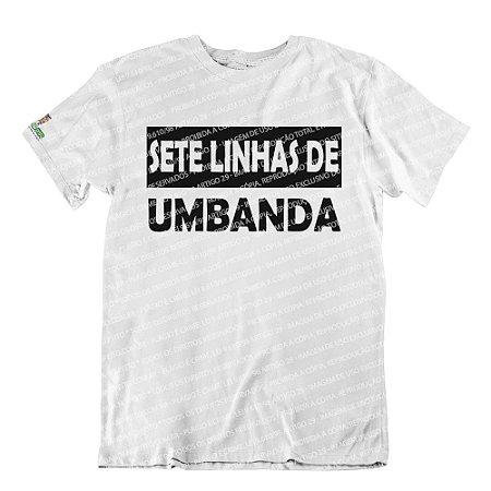 Camiseta Sete Linhas de Umbanda