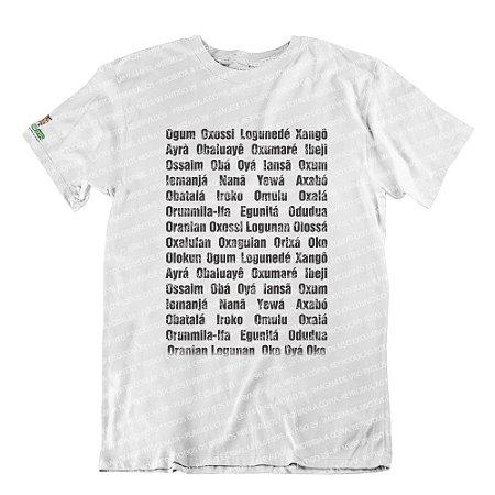 Camiseta Orixás Axé
