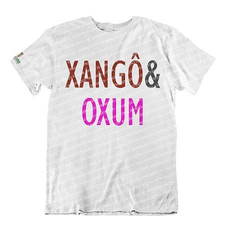 Camiseta Coleção Pai & Mãe: Xangô & Oxum