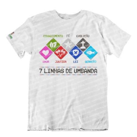 Camiseta Salve as Sete Linhas