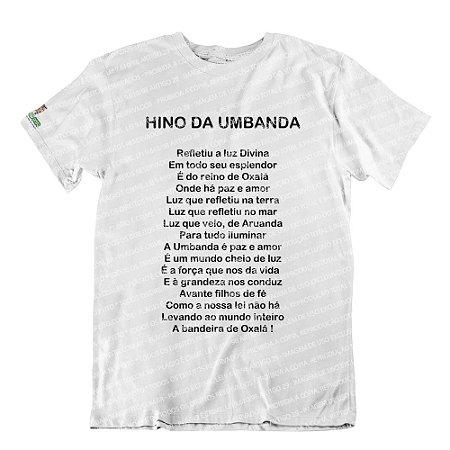 Camiseta Hino da Umbanda