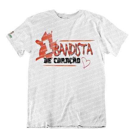 Camiseta 1Bandista de Coração