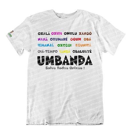 Camiseta Orixás Umbanda