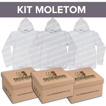 Kit Moletom