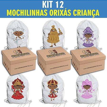 12 MOCHILINHAS