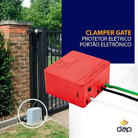 DPS Clamper Gate Protetor Elétrico Portão Eletrônico