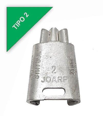 kit 50 peças Conector Tipo Cunha para Ramais de Ligação - Tipo 2