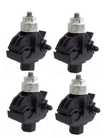 kit 100 peças CDP 70 Conector Derivação Piercing Perfurante - Intelli