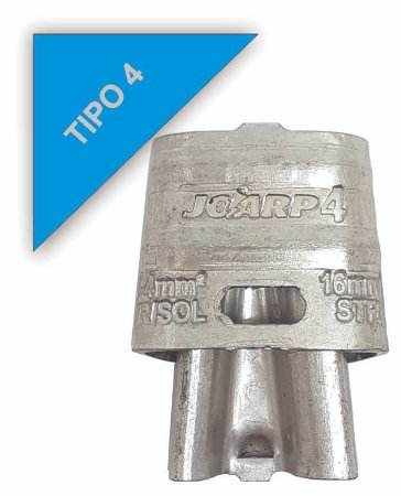 kit 100 peças Conector Tipo Cunha para Ramais de Ligação - Tipo 4