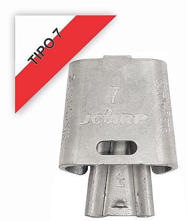kit 100 peças Conector Tipo Cunha para Ramais de Ligação - Tipo 7