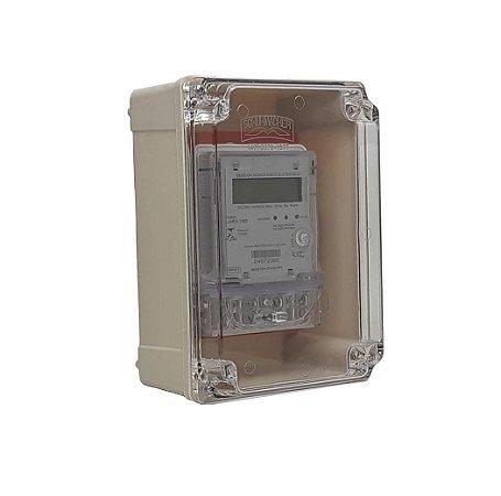 Kit Caixa e Medidor Monofásico Lumen 3MD - Bivolt