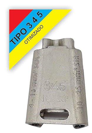 kit 10 peças Conector Tipo Cunha para Ramais de Ligação - Tipo 345 Otimizado