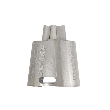 kit 20 peças Conector Tipo Cunha Aterramento Haste 13mm² Cabo 10-16mm - Joarp
