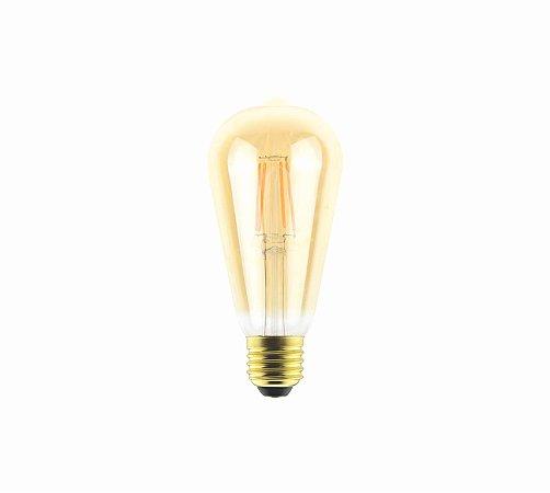Lâmpada Filamento LED Vintage ST64 - AUTOVOLT