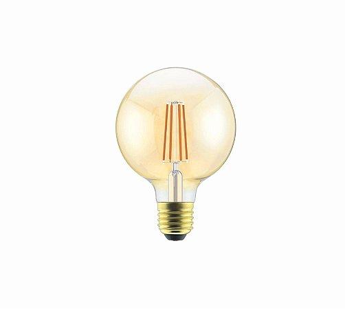 Lâmpada Filamento LED Vintage Bulbo G80 - AUTOVOLT