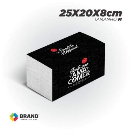 Box Food Padrão  - Tamanho M | 100 Unid.