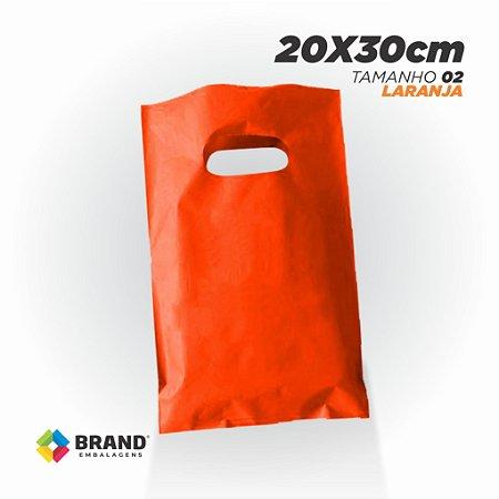 Sacola Alça Vazada - 20x30 Lisa | 50 unid.