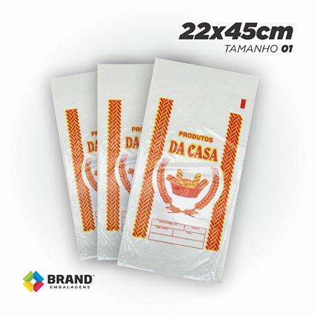 Saco PP - Produtos da Casa 22x45 | 1000 unid.