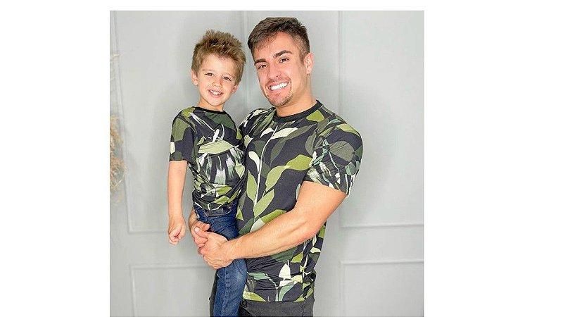 Camiseta Estampada Tal Pai e Tal Filho