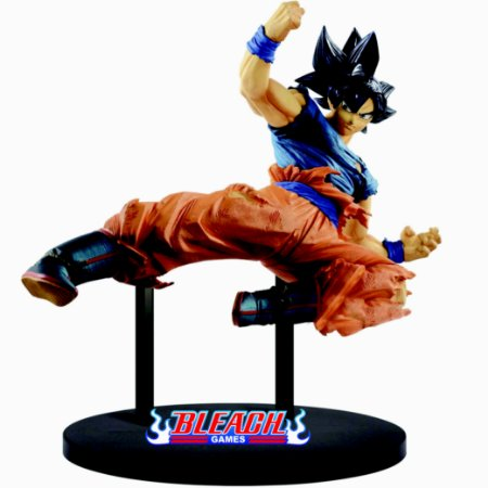 ESTÁTUA BANPRESTO DRAGON BALL SUPER FES - GOKU ULTRA INSTINCT STAGE 10 FES