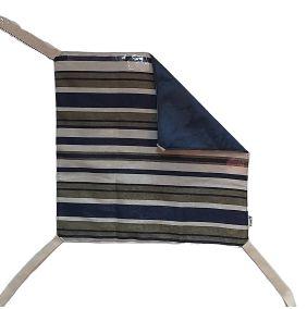 Rede de Cadeira Dupla-Face Bigo.Net Listrada Azul & Verde