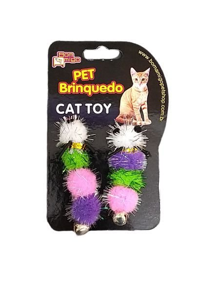 Brinquedo para gato Centopéia com Guizo