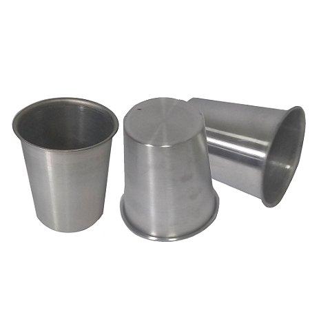 Copo de aluminio com cordão 350 ml