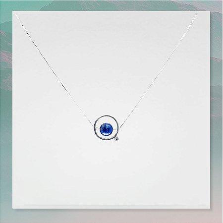 Colar Amuleto ThetaVibes Lápis Lázuli