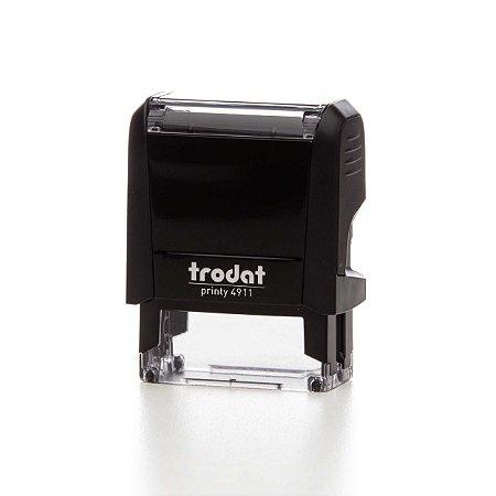 TRODAT 4911 - 4.0 PRETO 14X38MM