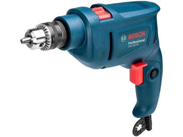 Furadeira de Impacto Bosch GSB 450 RE STD