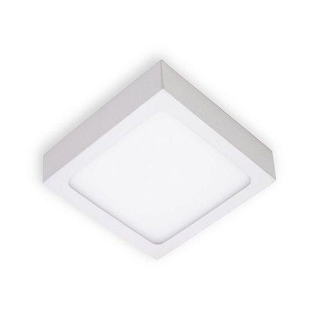 Painel led 12x12 Sobrepor quad. 6w 6.5k