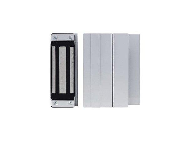 Fechadura eletroimã fs150 12v c/ kt 740 inox - automatiza - Intelbras