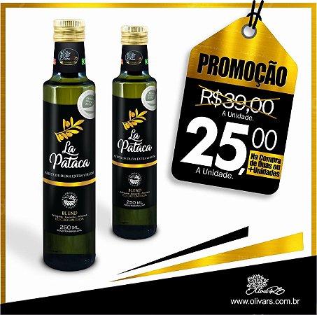 Azeites De Oliva Extra Virgem La Pataca  Blend - 250ml - 2 unidades