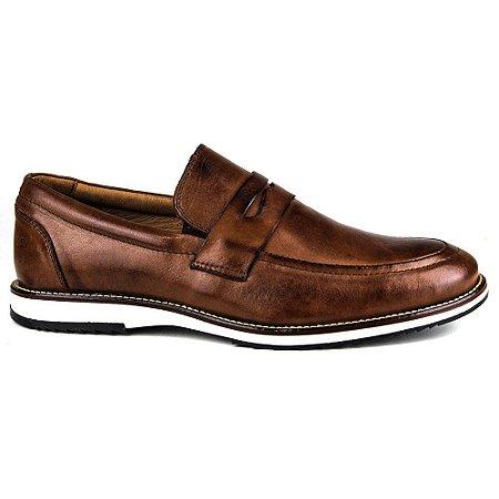 Sapato Masculino Brogue Comfort Castor 8001