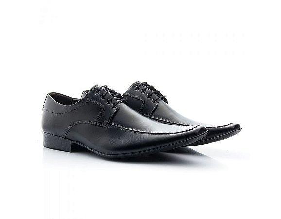 Sapato Social Masculino Bigioni Couro Preto 400