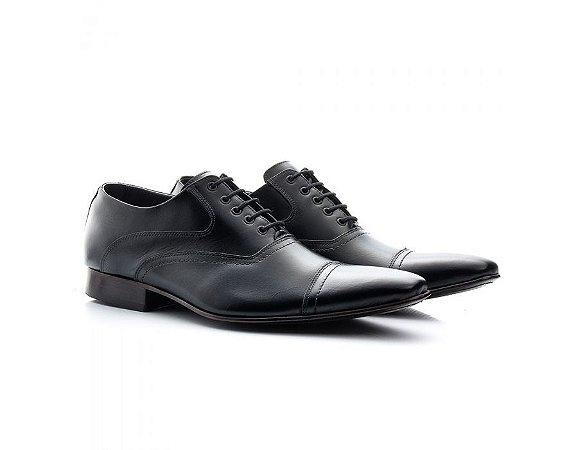 Sapato Social Masculino Bigioni Couro Preto 341