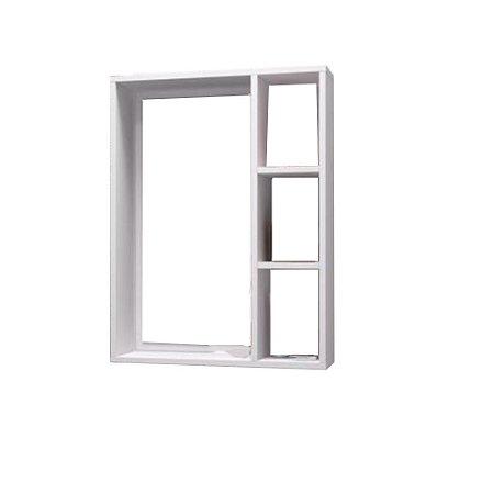 Nicho Banheiro Sem Espelho Trovarelli Branco