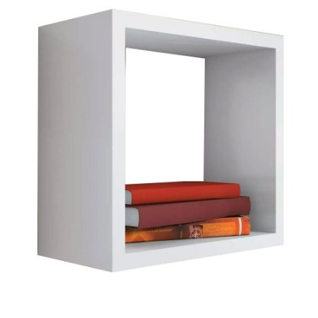 Nicho Decorativo Trovarelli 45x45x20 Cm Branco