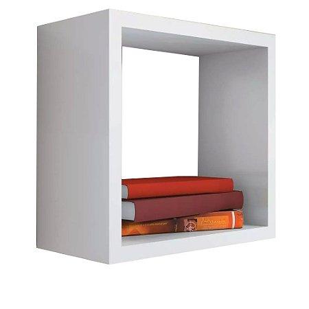 Nicho Decorativo Trovarelli 55x55x15 Cm Branco