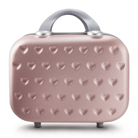 Frasqueira Love 750ML ABS Jacki Design Viagem Rose Gold