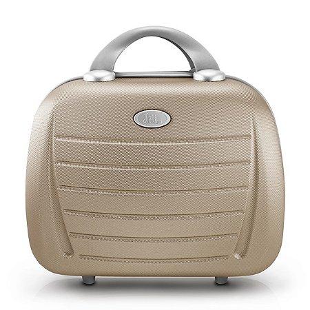 Frasqueira Select  ABS Jacki Design Viagem Dourado