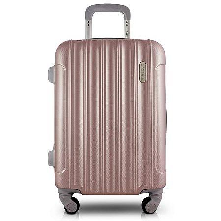 Mala de Viagem Trip ABS Jacki Design Viagem Rosê
