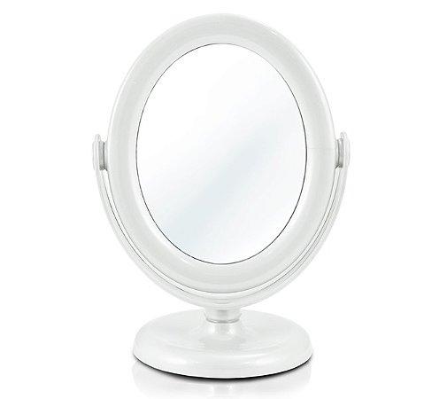 Espelho de mesa  Polipropileno Jacki Design Beauty Branco