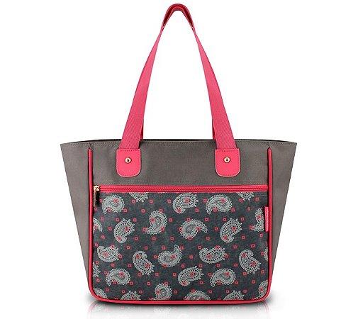 Bolsa Shopper Tam. G Estampada Nylon Jacki Design Classic