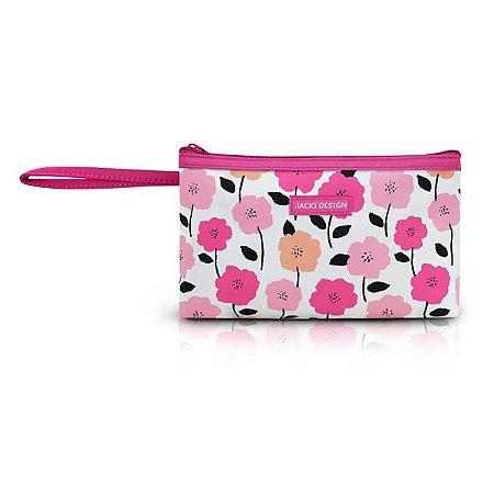Necessaire com Alça (P) Poliéster Jacki Design Pink Lover