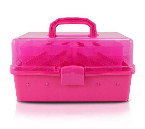 Caixa Organizadora Transparente Plástico Jacki Design Organizadores