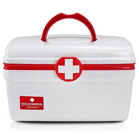 Caixa de Remédios (G) Polipropileno Jacki Design Organizadores