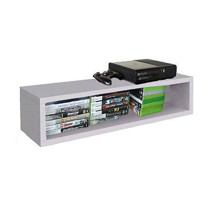 Nicho Retangular Suporte Para Xbox Em Mdf - Branco