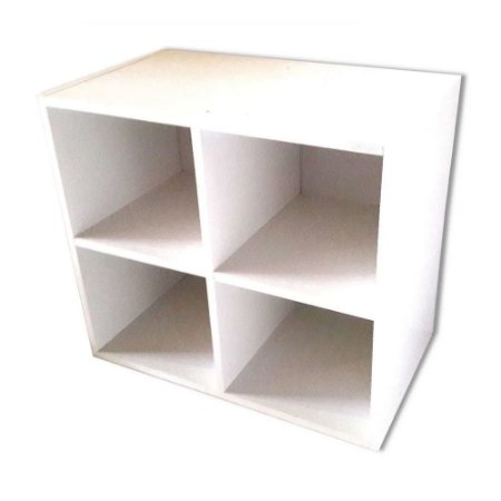 Biblioteca Cubo Aéreo Trovarelli - Branco