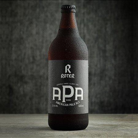 Roter American Pale Ale (600ml) - Caixa com 6 garrafas